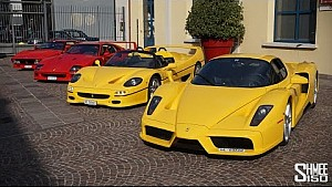 Ferrari 288 GTO vs F40 vs F50 vs Enzo