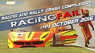 Racing and Rally Crash Compilation Week 44 October 2016