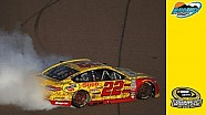 Logano, Busch advance in thrilling overtime finish