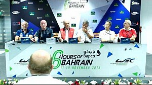 WEC - 2016 6 Hours of Bahrain - Pre-event press conference LMGTE