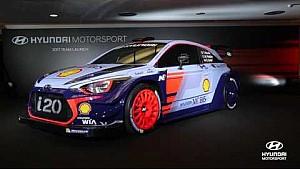 2017 Hyundai Motorsport Team Lanzamiento
