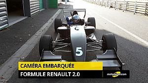 Caméra embarquée en Formule Renault 2.0