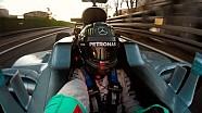 Nico Rosberg guida per l'ultima volta la sua Mercedes W07