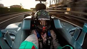 De laatste rit van Nico Rosberg in de Mercedes W07