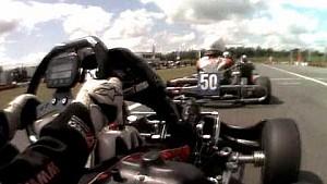 Verstappen'in herkesi geçtiği karting yarışı