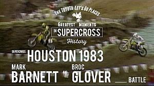 Houston 1983 | Mark Barnett vs Broc Glover