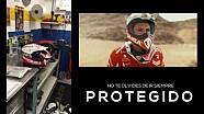 La ropa y las protecciones de un piloto del Rally Dakar por Dani Oliveras
