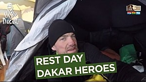 Dakar 2017: Día de descanso - Héroes del Dakar