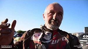 Dakar 2017, l'arrivo di Franco Picco