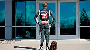 Kevin Magnussen, il primo giorno allo Haas F1 Team