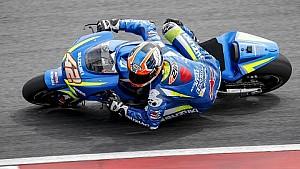Les essais de Sepang avec Suzuki