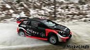 Les essais de Mads Ostberg avant le Rallye de Suède