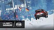 WRC - Rally Sweden 2017: Østberg´s jump @ COLINS CREST SS11