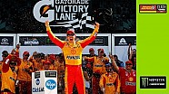 Logano celebrates in Victory Lane after winning 'The Clash'