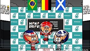 El GP de Malasia 2001 de Fórmula 1 según 'Los MiniDrivers'