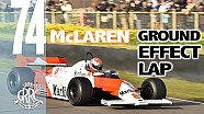 McLaren Mp4/1 high-speed ground effect lap