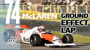Un tour de Goodwood avec la McLaren MP4/1