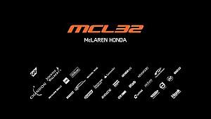 Видеотрансляция : презентация McLaren MCL32