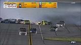 Huge last-lap crash sends Crafton airborne at Daytona