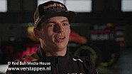 Pre-season interview with Max Verstappen, 25/02/2017