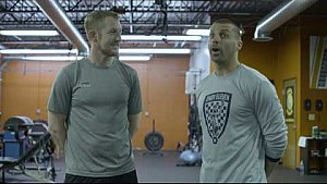 Train Like An Indycar Driver: Charlie Kimball trains with Indy Eleven's Jon Busch