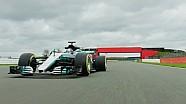 梅赛德斯W08赛车新赛季宣传片