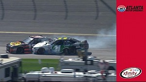 Ty Dillon gets sideways, collects Koch