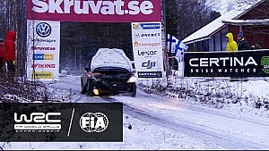 Rally Sweden 2017: Louise Cook