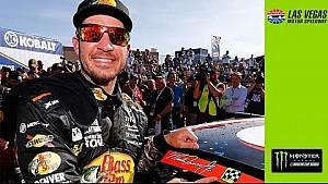 El resumen de NASCAR en Las Vegas