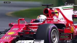 Vettel'in FP3'teki en hızlı turu