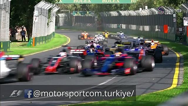 Formula 1  2017 Avustralya GP Start