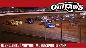 World of Outlaws Craftsman late models why not Motorsports Park March 24, 2017 | highlights