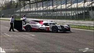 Toyota TS050, la presentazione a Monza