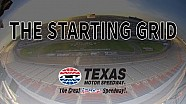 The starting grid: Slip sliding at Texas Motor Speedway