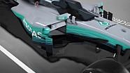梅赛德斯W08赛车技术分析