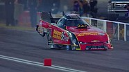 Watch in super slo mo Courtney Force crazy run from Vegas
