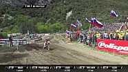 MXGP de Trentino MX2 carrera 2 Julien Lieber vs Jorge Prado