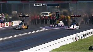 Leah Pritchett vs. Steve Torrence - Houston Top Fuel final
