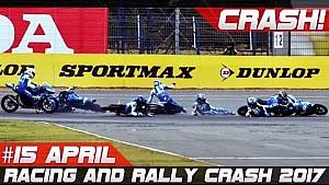 Week 15 April 2017 racing and rally crash compilation