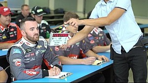Watch: Behind the scenes of Austin Dillon's commercial for Acceleration Nation