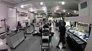 Dale Coyne Racing Coche 18 desmontaje en time lapse