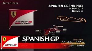 Vista previa gran premio de España - Scuderia Ferrari 2017