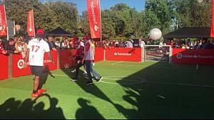 Santander Challenge: Kimi Raikkonen/Christian Karembeu VS Sebastian Vettel/Fernando Morientes
