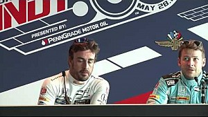 #Indy500 end of day 1 news conference