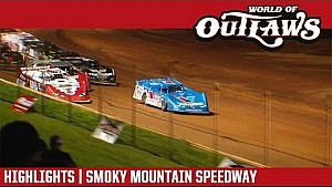World of Outlaws Craftsman late models Smoky Mountain speedway May 13, 2017 | Highlights