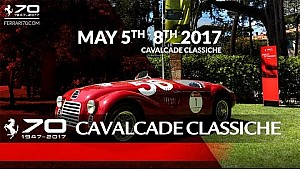 70 years celebrations - Cavalcade Classiche, May 5th-8th 2017