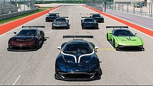 Aston Martin Vulcan owners event at Circuit of the Americas