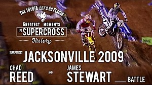 Jacksonville 2009 |  James Stewart and Chad Reed battle