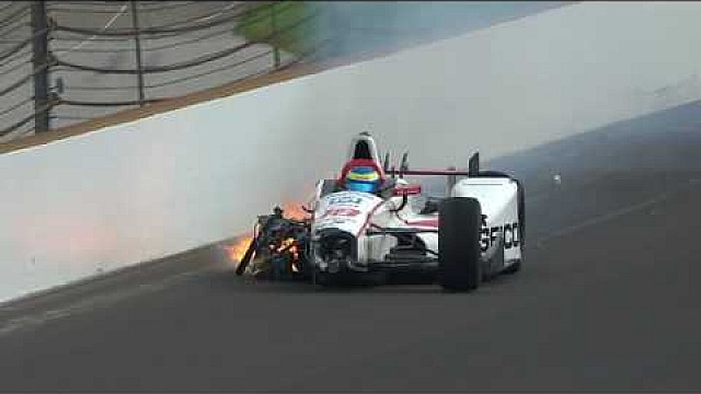 Le crash de Sébastien Bourdais en vidéo