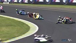 Kecelakaan massal Moto3 Le Mans